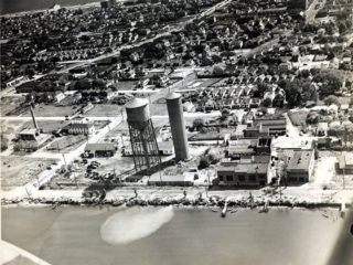 aerial view: Reynolds Channel and Long Beach