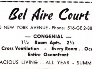 ad: Bel Air Court apartments