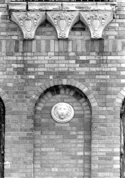 Granada Towers carvings