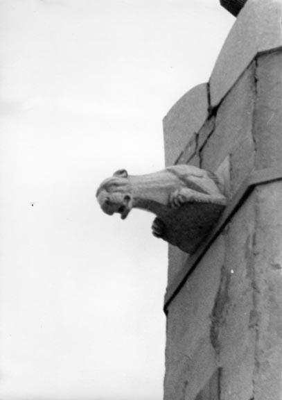 gargoyle on Granada Towers
