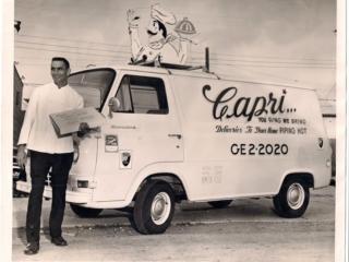Capri pizza delivery can