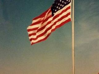 flag over Chauncey's