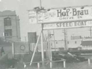 Hof-Brau sign