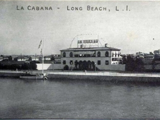 postcard: La Cabana restaurant