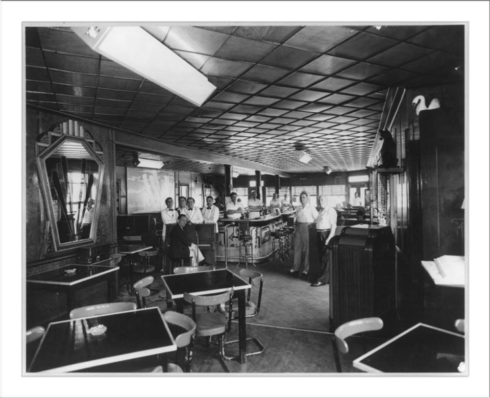 interior, Virginian Bar and Restaurant