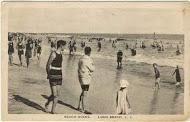 postcard: beach scene