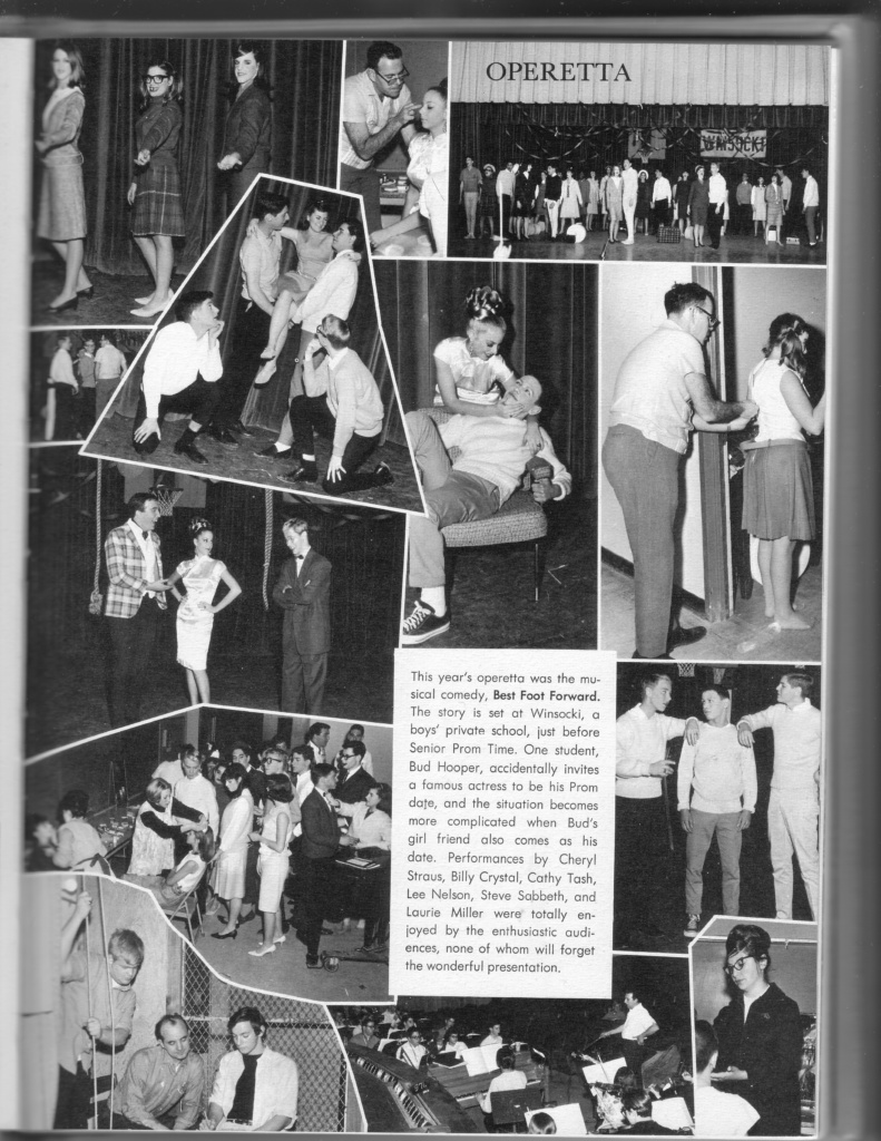 yearbook page: operetta, Best Foot Forward