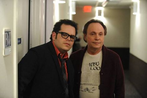 Billy Crystal and friend