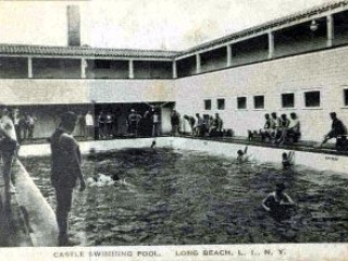 postcard: pool inside Castles by the Sea