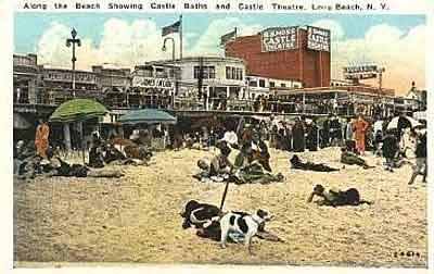 postcard: Castles Theatre