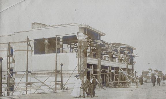 National Pavillion under construction
