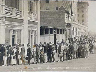 lines for the National Pavillion, 1913