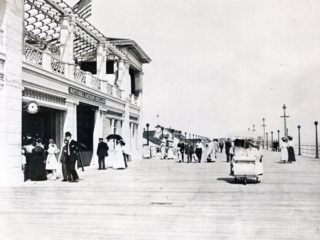 boardwalk in front of National Pavillion