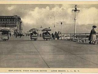 postcard: Esplanade, from Palace Baths