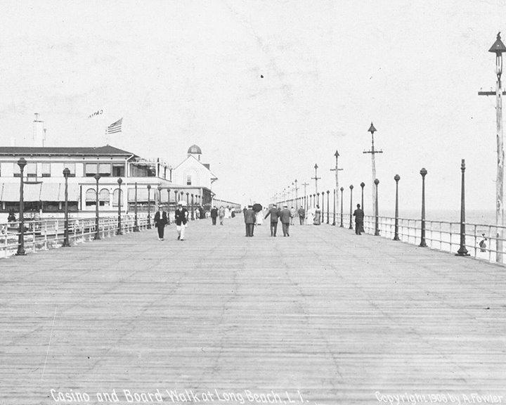 boardwalk near casino 1908