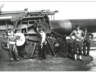 control tower gun at Fortt Tilden