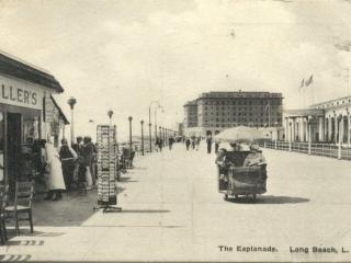postcard: The Esplanade (boardwalk)
