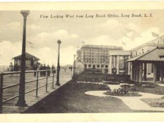 postcard: boardwalk looking west