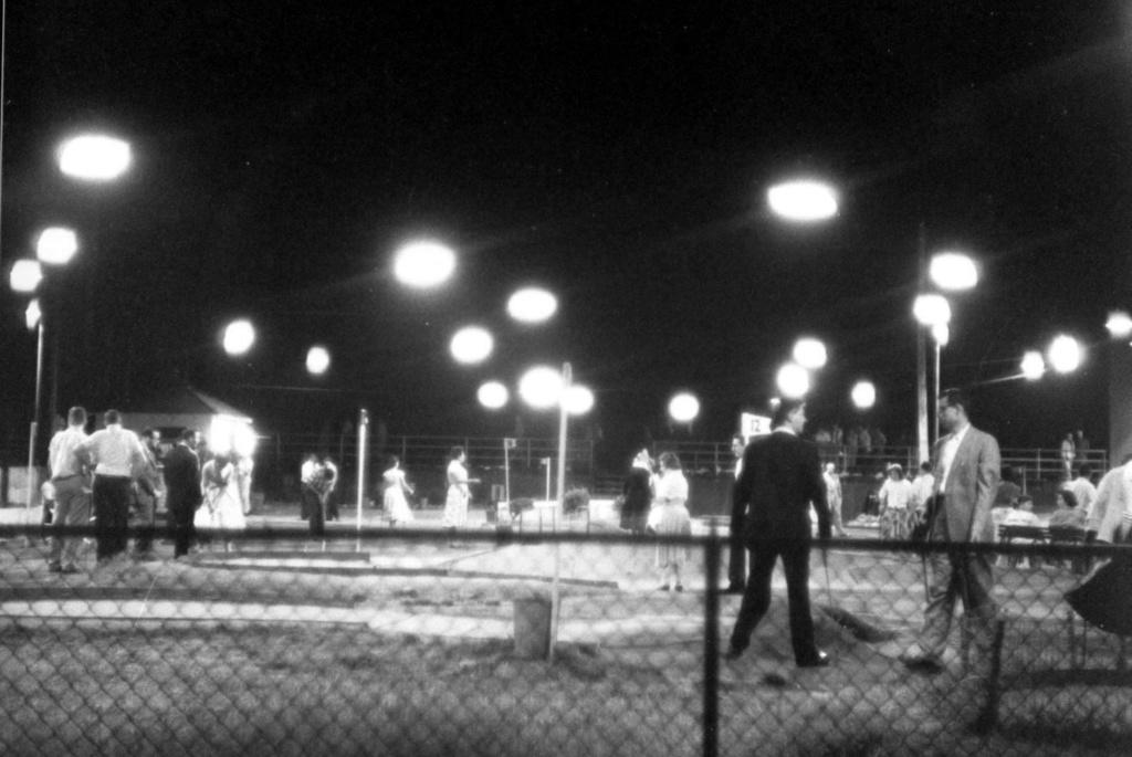 miniature golf and night under lights