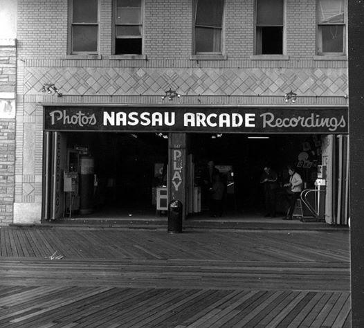 Nassau Arcade storefront