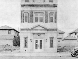 original library building, 1928