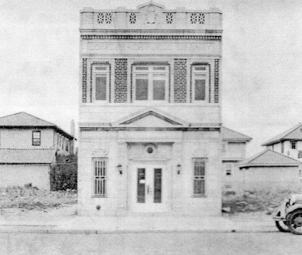original library building, 1928